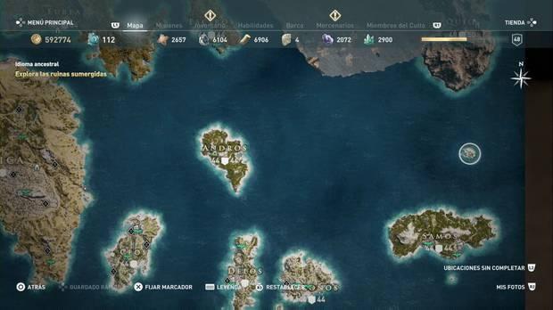 Assassin's Creed Odyssey - Isla sin nombre