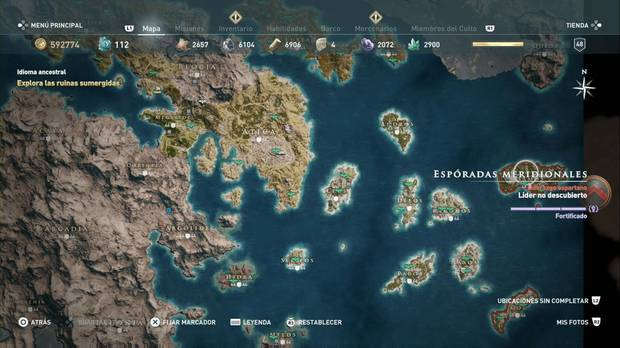Assassin's Creed Odyssey - Espóradas meridionales