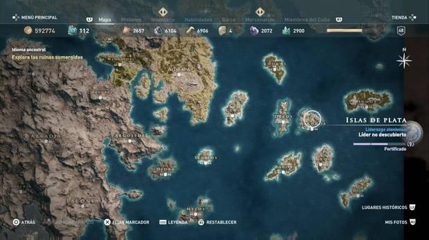 Assassin's Creed Odyssey - Isla de Paros