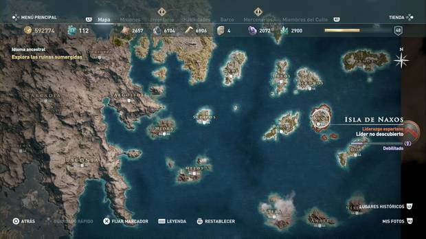 Assassin's Creed Odyssey - Isla de Naxos