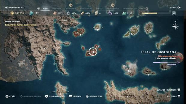 Assassin's Creed Odyssey - Islas de obsidiana