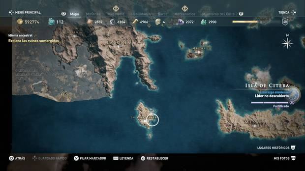 Assassin's Creed Odyssey - Isla de Citera