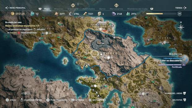 Assassin's Creed Odyssey - Beocia