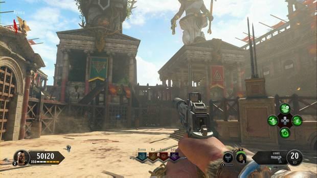 Call of Duty Black Ops 4 Modo Zombies - IX: Torres de los dioses