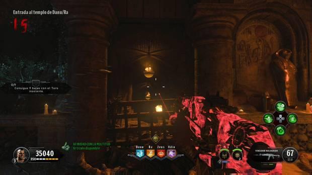 Call of Duty Black Ops 4 Zombies - IX: localiza el brasero