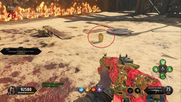 Call of Duty Black Ops 4 Zombies - IX: jarrón dorado