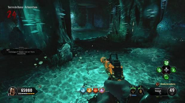 Call of Duty Black Ops 4 Zombies - IX: fertilizante en Arboretum