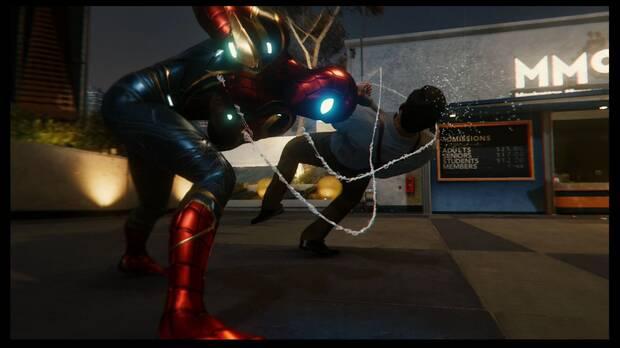 Spider-Man DLC El Atraco - The Maria: elimina a los enemigos
