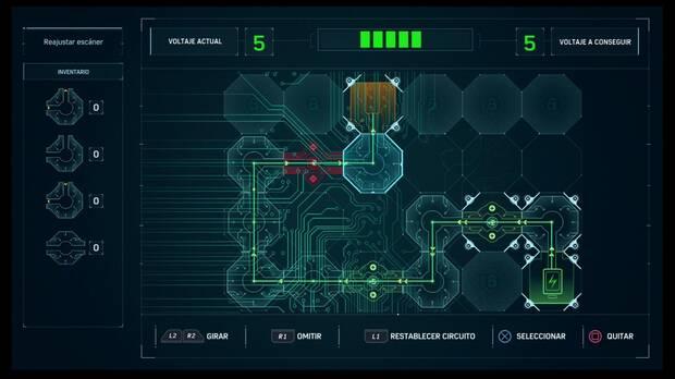Spider-Man DLC El Atraco - The Maria: solución al puzzle de circuitos