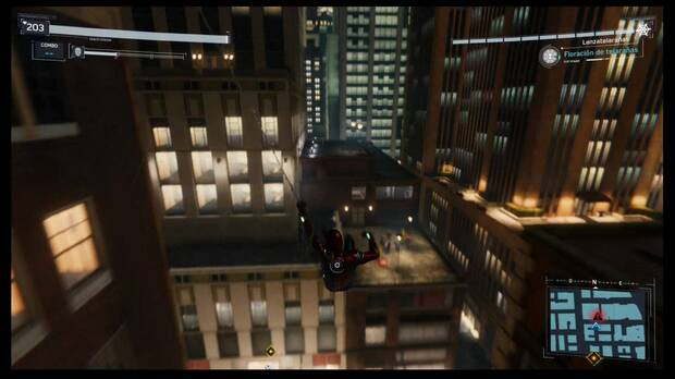 Spider-Man DLC El Atraco - Delitos de la Maggia: indicador en el radar