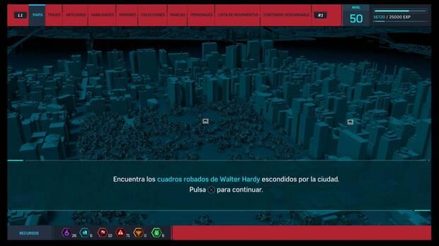 Spider-Man DLC El Atraco - Botín perdido: los cuadros robados