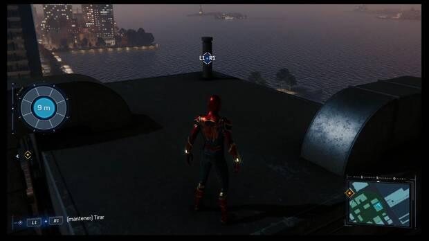 Spider-Man DLC El Atraco - Coleccionables Greenwich 2