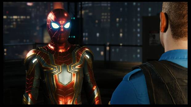 Spider-Man DLC El Atraco - Manipulación: Mackey era Hardy