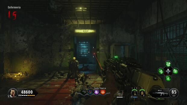 Call of Duty Black Ops 4 Zombies - La sangre de los condenados: puerta al tejado