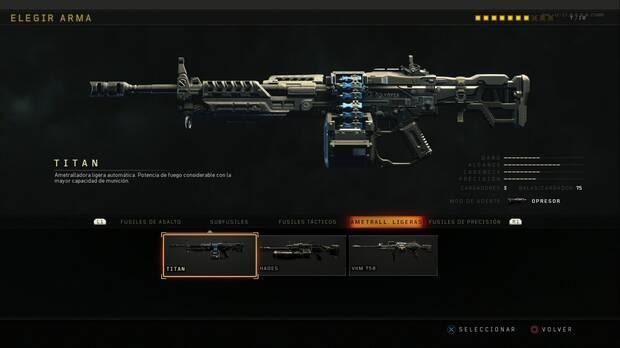 Ametralladoras ligeras Black Ops 4