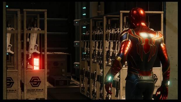Marvel's Spider-Man DLC El Atraco - Sigue el dinero: Hammerhead tiene armas de Sable