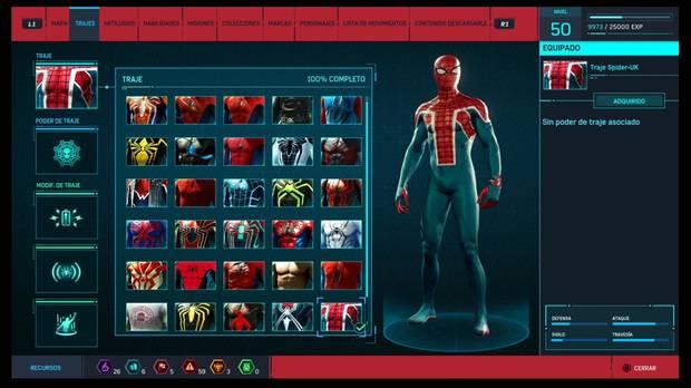 Marvel's Spider-Man - Trajes: Spider-UK