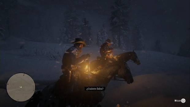 Red Dead Redemption 2 - Forajidos del oeste: Arthur y Micah avanzan por la tormenta