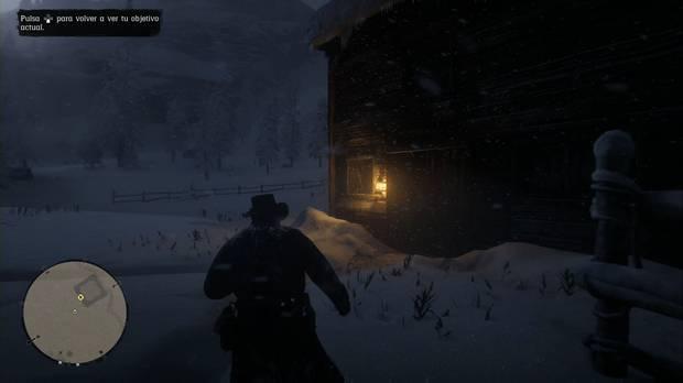 Red Dead Redemption 2 - Forajidos del oeste: investiga el granero