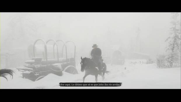Red Dead Redemption 2 - Entra, perseguido por un recuerdo: Arthur y Javier buscan a John