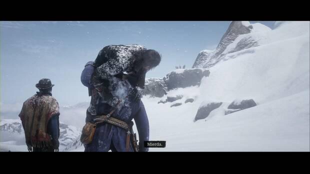 Red Dead Redemption 2 - Entra, perseguido por un recuerdo: los lobos atacan