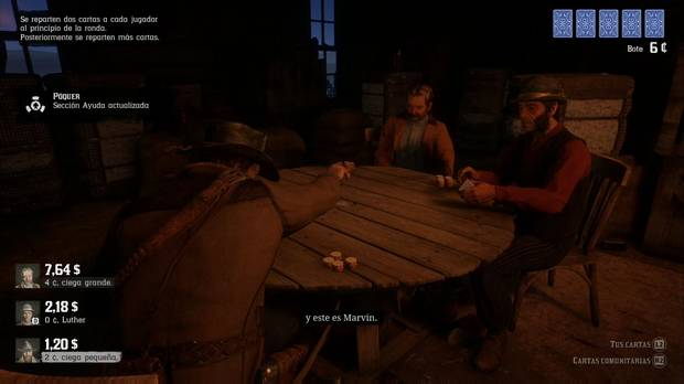 Red Dead Redemption 2: El que esté libre de pecado...: Arthur juega al póquer