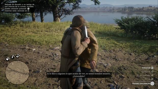 Red Dead Redemption 2: El que esté libre de pecado...: detén al testigo