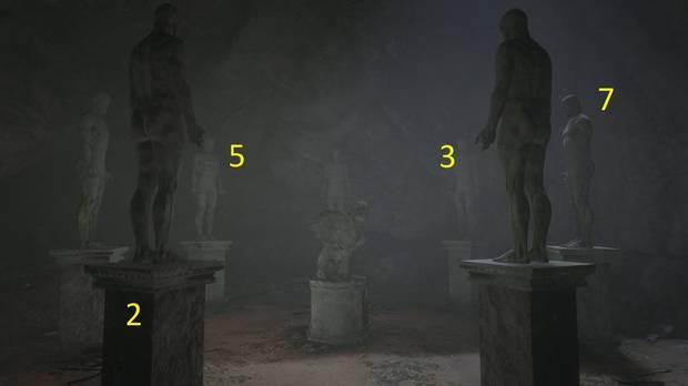 Solución del puzle de las estatuas raras Red Dead Redemption 2