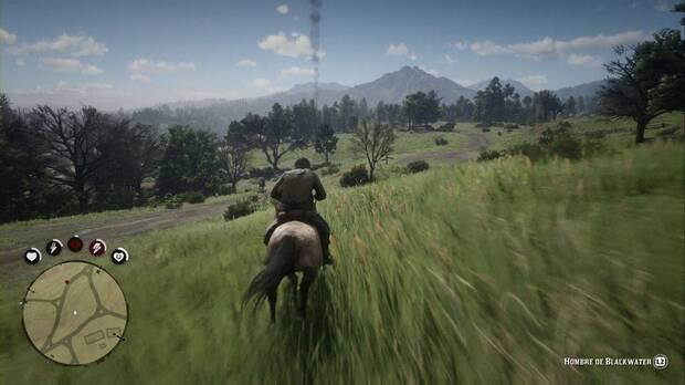 Red Dead Redemption 2 - Sociedad educada, estilo Valentine: persigue a caballo al testigo