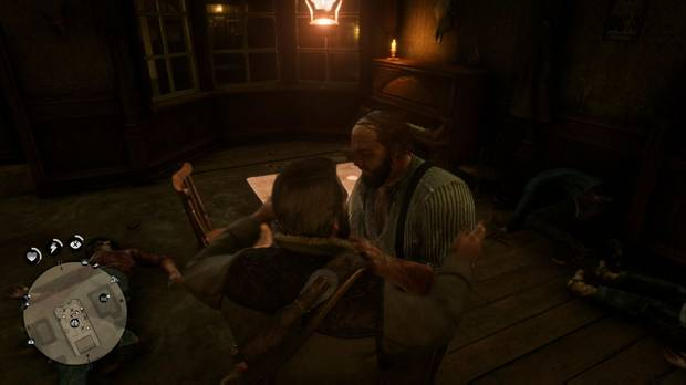 Red Dead Redemption 2 - Americanos descansando: Tommy