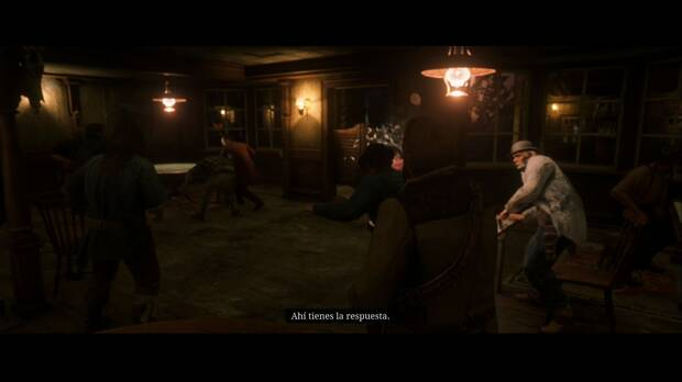Red Dead Redemption 2 - Americanos descansando: estalla una pelea