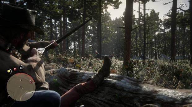 Red Dead Redemption 2 - Una visita de compromiso: mata con el arco de forma sigilosa