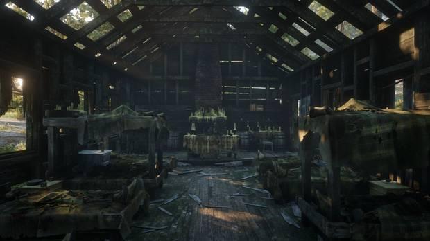 Cómo encontrar el OVNI en Red Dead Redemption 2 - Estampa terrorífica