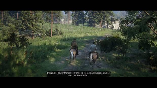 Red Dead Redemption 2 - Tiempos de sosiego: Lenny habla de lo que pasó con Micah