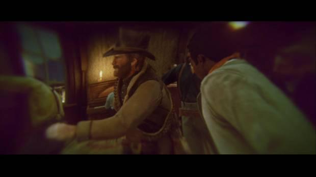 Red Dead Redemption 2 - Tiempos de sosiego: Arthur y Lenny se dan de bofetadas