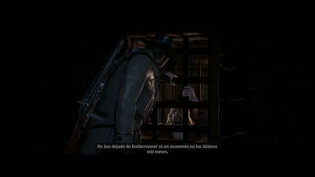 Red Dead Redemption 2 - ¿Bienaventurados los mansos?: Micah y Arthur discuten