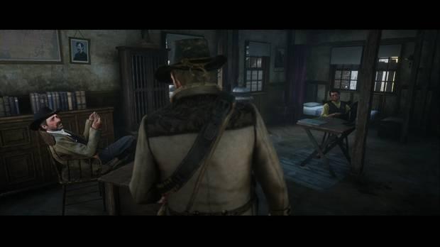 Red Dead Redemption 2 - Aceite de serpiente bueno y auténtico: el sheriff ofrece trabajo a Arthur
