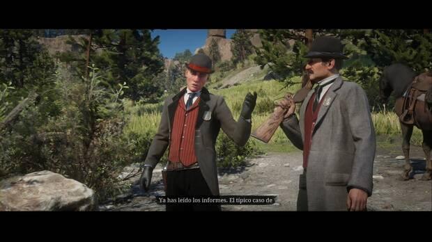 Red Dead Redemption 2 - Pescador de hombres: Milton y Ross se presentan