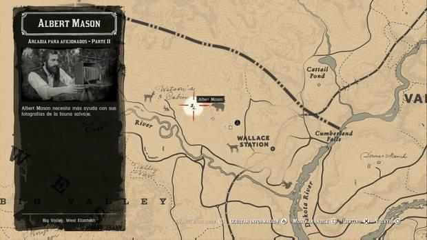Red Dead Redemption 2 - Misiones de forastero: Albert Mason 2