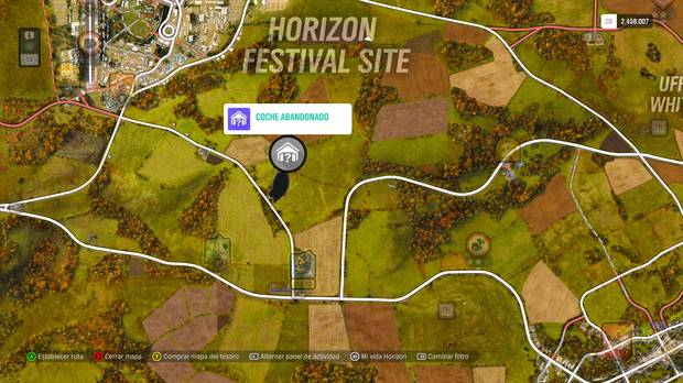 Forza Horizon 4 - Coche abandonado nº 4 - Aston Martin DB4 Zagato de 1960 - ESPECIAL DE OTOÑO