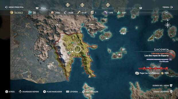 Assassin's Creed Odyssey - Laconia