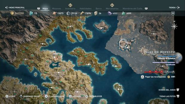 Assassin's Creed Odyssey - Islas de Hefesto