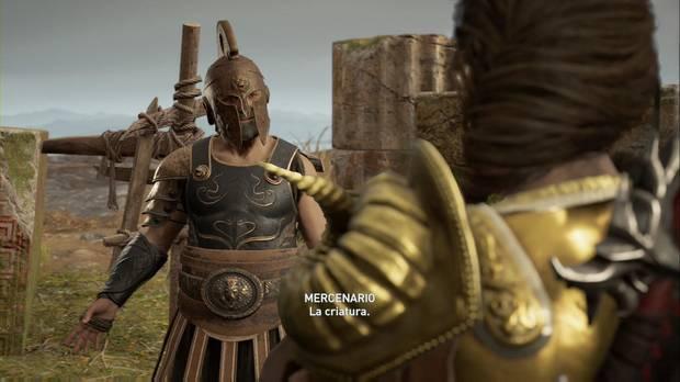 Assassin's Creed Odyssey - Una súplica sibilante: el mercenario que se enfrentó a la Gorgona