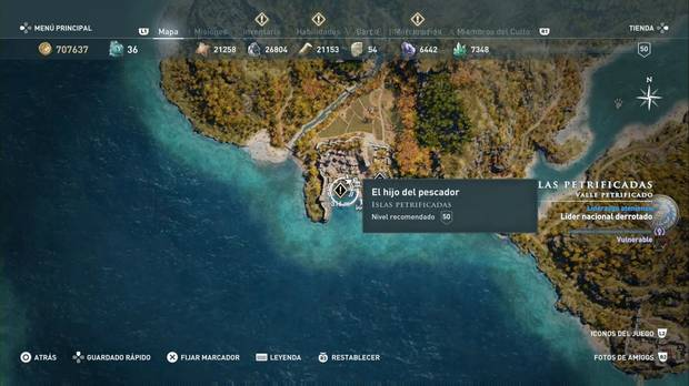 Assassin's Creed Odyssey - El hijo del pescador: localización