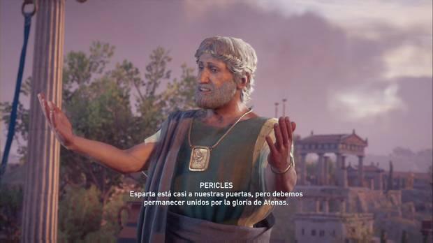 Assassin's Creed Odyssey - Bienvenidos a Atenas: Pericles, el líder de Atenas