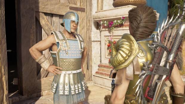 Assassin's Creed Odyssey - Huida de Atenas: el guardia nos impide ver a Fidias