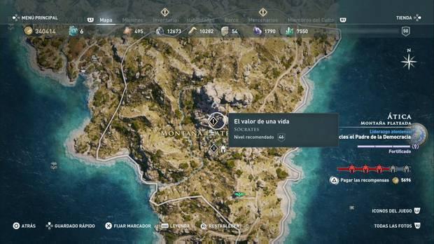 Assassin's Creed Odyssey - El valor de una vida: localización