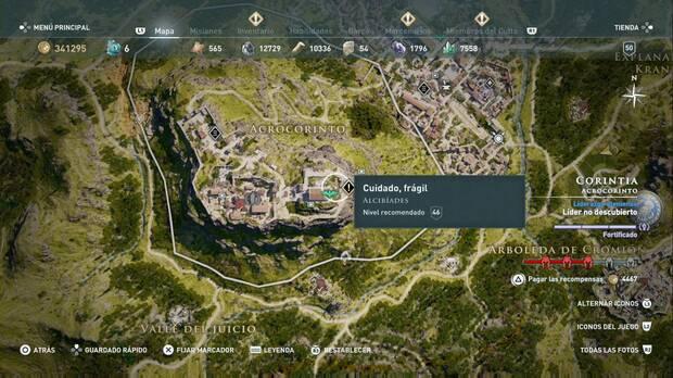 Assassin's Creed Odyssey - Cuidado, frágil: localización