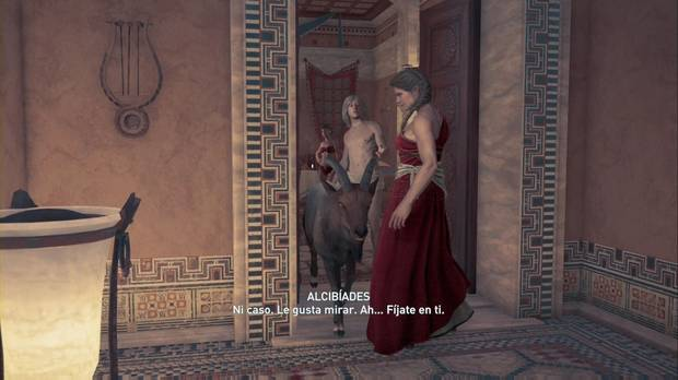 Assassin's Creed Odyssey - El simposio de Pericles: Alcibíades y una cabra