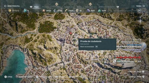 Assassin's Creed Odyssey - Prueba de ciudadanía: localización